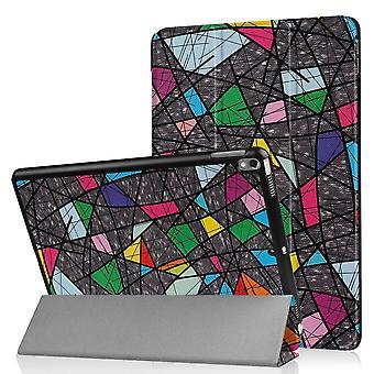iPad Air 10,5 & iPad Pro 10,5 Slim Fit Tri-ori caz-geometric