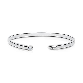 Minnesota Twins Engraved Sterling Silver Diamond Cuff Bracelet