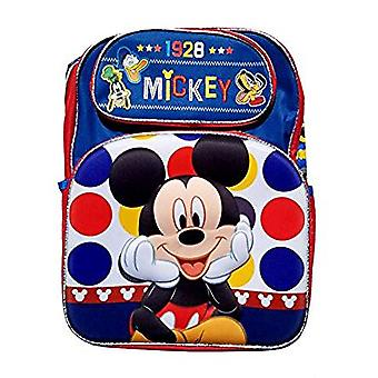 Backpack - Disney - Mickey Mouse - Blue 3D Pop-Up New 147815-2