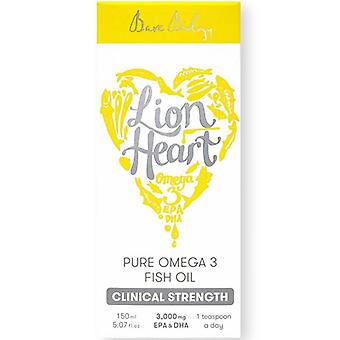 Bare Biology Lion Heart Pure Omega-3 Fish Oil 150ml