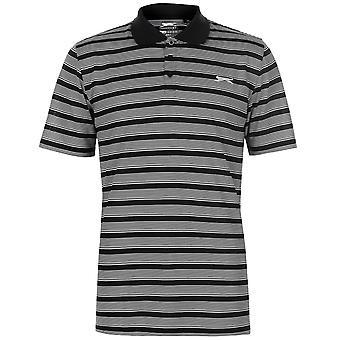 Slazenger Mens Stripe Polo Shirt