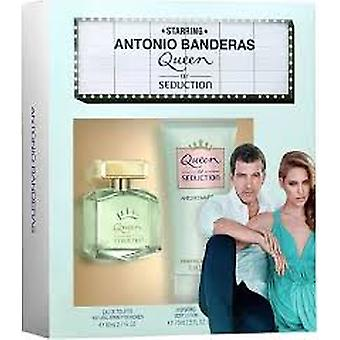 Antonio Banderas dronning af Seduction gave sæt 50ml EDT + 50ml body lotion