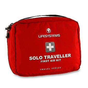 New Life Systems Solo Traveller First Aid Kit Outdoors Camping Red