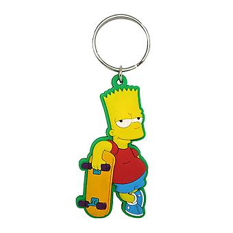 The Simpsons Soft Touch Bart Keychain