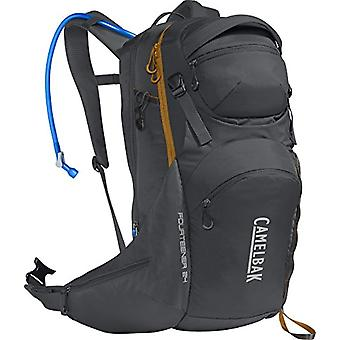 CamelBak Fourteener 24 - Unisex-Adult Backpack - Charcoal/Rust Orange - 3 L