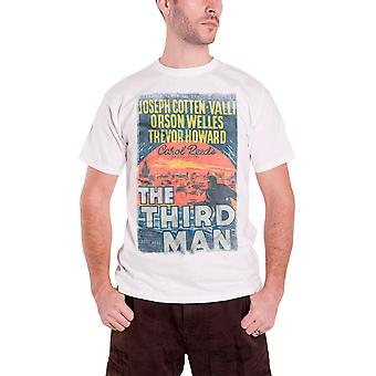 Studiocanal The Third Man vintage movie poster new Official Mens White T Shirt