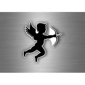 Sticker Sticker Car Moto Angel Angel Love Wings Cupid Size A4 Walls