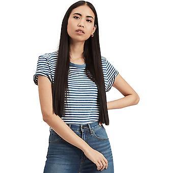 Levi ' s kvinnor ' s den perfekta T-shirt blå 09
