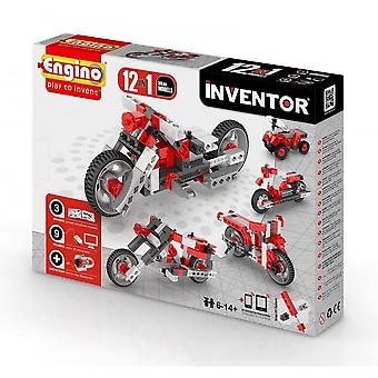 Engino Inventor 12 In 1 BIKES - Construction Kit