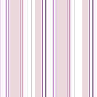 Pink Purple White Stripes Wallpaper Children's Room Girls Paste Wall Galerie