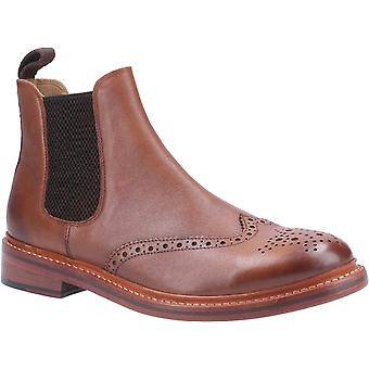 Cotswold Mens Siddington Leather Goodyear Welt Boot Brown