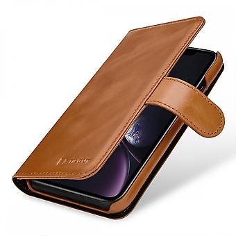 Case For Iphone Xr Card Holder Talis Cognac In True Leather
