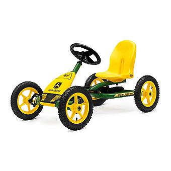 BERG John Deere Pedal Go Kart Green and Yellow