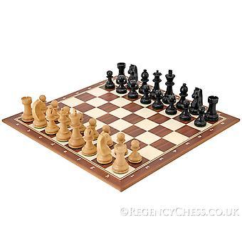 Baixa a cabeça preta de torneio de xadrez conjunto