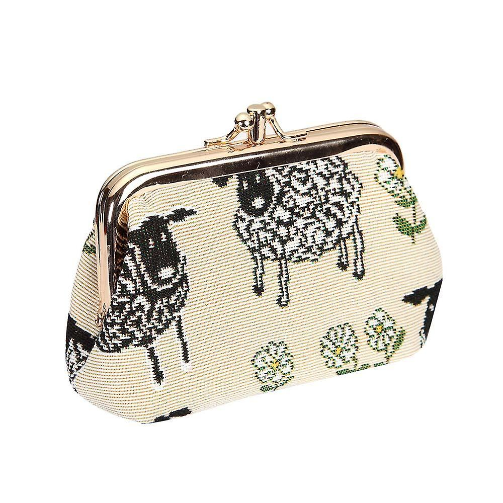 Spring lamb coin purse by signare tapestry / frmp-splm
