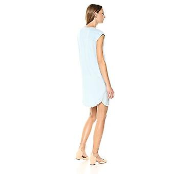Splendid Women's Drop Shoulder Dress Indigo Crosshatch,, Polar, Rozmiar X-Mały