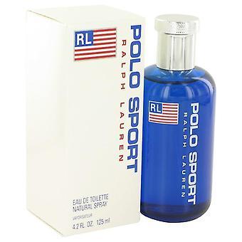 Polo sport eau de toilette spray par ralph lauren 400750 125 ml