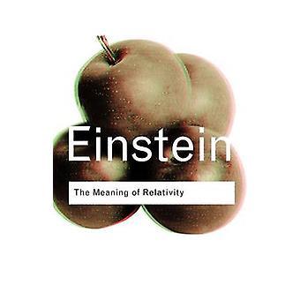 Betydningen av relativitetsteori av Albert Einstein