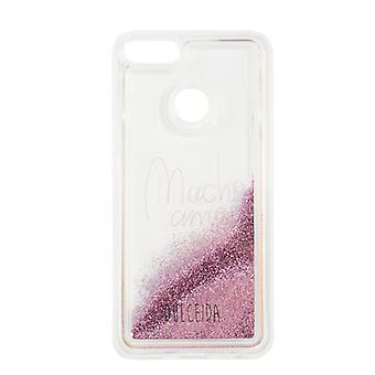 Case Xiaomi Mi A1 Dulceida DLCAR012 Transparent Glitter Pink