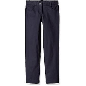 Dockers Little Girls' Uniform Skinny Pant, Navy, 6X, Navy/Skinny, Size 6X