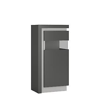 Brooklyn Dusk Small Narrow Display Cabinet (inc. Led Lighting)