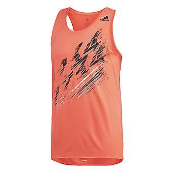 Adidas Speed Singlet M FL7032 beží po celý rok muži t-shirt