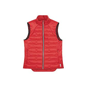 Hunter Womens Original Midlayer Gilet - Military Red