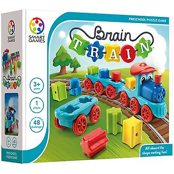 SmartGames Brain Train Shape Sorting Puzzle Jeu Un joueur ages 3 ans