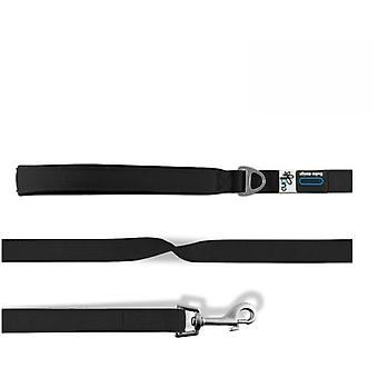 Curli Correa para Perros Basic Nylon Negra (Dogs , Collars, Leads and Harnesses , Leads)