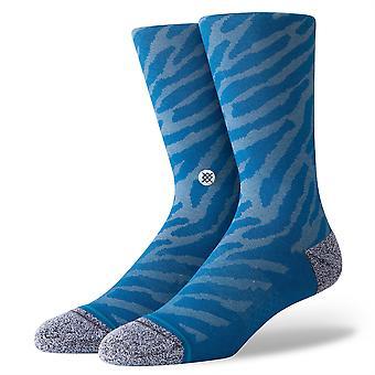 Stance Inline Men's Socks ~ Eldrick blauw