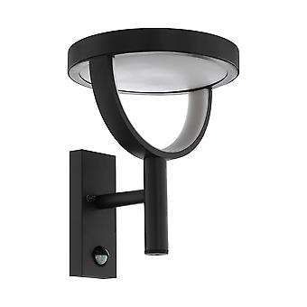 Eglo Francari - LED Outdoor Wall Light with PIR Motion Sensor Anthracite IP44 - EG98233