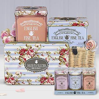 The cottage garden tea gift collection