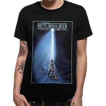 Camiseta de Adultos Unisexuais de Star Wars com o retorno do design Jedi