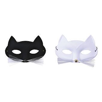 Bristol nyhet unisex voksne Cat Domino øye maske