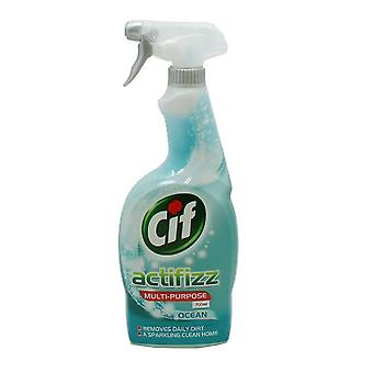 Cif Actifizz Ocean Multi-Purpose Liquid Spray 700ml