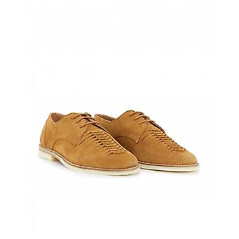H By Hudson Chatra Suede Woven Shoes