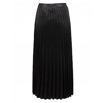 BOSS Soft Velvet Pleated Skirt