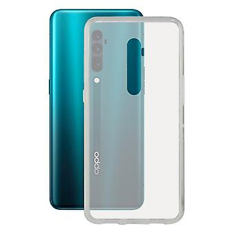 Couverture mobile Oppo Reno KSIX Transparent