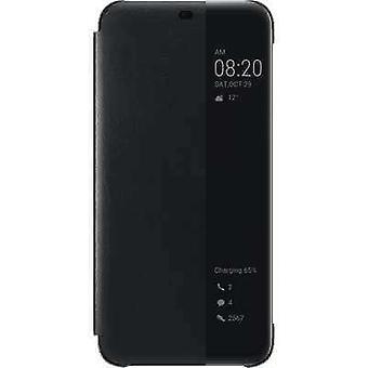 Smart View Flip Cover Huawei Mate 20 lite - Zwart