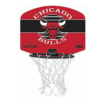 Spalding Chicago Bulls NBA Miniboard Basketball Ring - Net et Ball Set