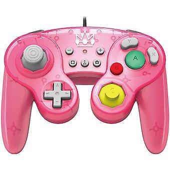 Hori Super Smash Bros Gamepad for Nintendo Switch - Peach