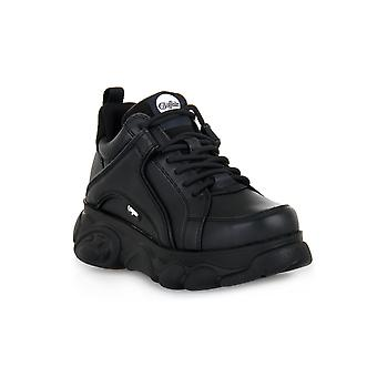 Buffalo corin black sneakers fashion