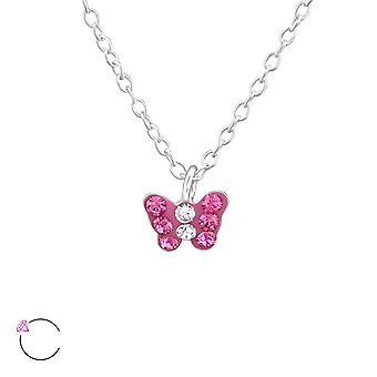 Butterfly - 925 Sterling Silver Necklaces - W37646x