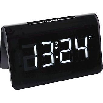 TFA Dostmann 60.2543.02 Radio Alarm clock Black Alarm times 1