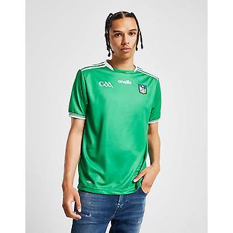 New O'Neills Men's Limerick GAA 2018 Home Shirt Green