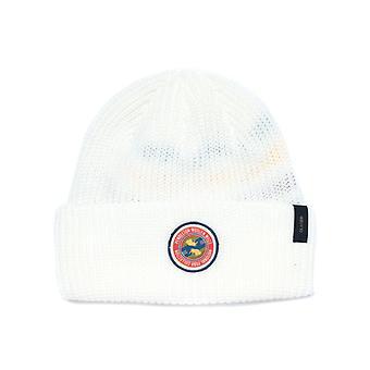 Pendleton Glacier Stripe White Beanie