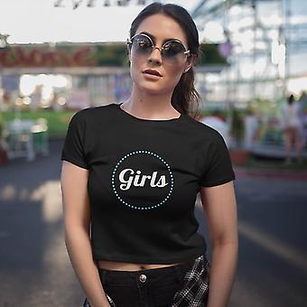 Naisten Crop T-paita | Tytöt