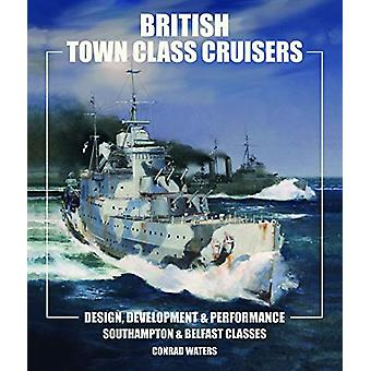 British Town Class Cruisers - Southampton & Belfast Classes - Desig