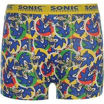 Charakter Sonic Single Boxer Krátké Junior