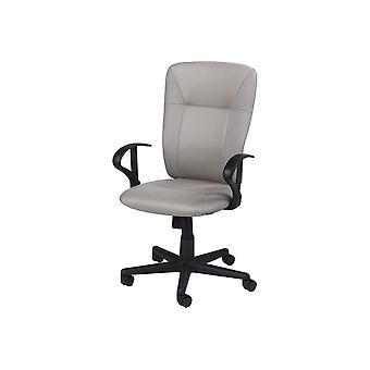 Felix Grey Chair, Polyester Black, Nylon 49x63x103 cm